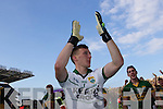 Brian Kelly celebrates after defeating Donegal in the GAA All Ireland Senior Football Championship final.