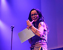 Gilded Balloon Press Launch 2018 at the Edinburgh Festival Fringe. The Gilded Balloon presents a showcase of a number of productions and acts to launch their Fringe 2018, Teviot Row House, Bristo Square, Edinburgh. Picture shows: Janeane Garafolo