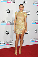 LOS ANGELES, CA - NOVEMBER 18: Heidi Klum at the 40th American Music Awards held at Nokia Theatre L.A. Live on November 18, 2012 in Los Angeles, California. Credit: mpi20/MediaPunch Inc. NortePhoto