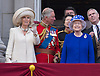 CAMILLA, QUEEN, PRINCE CHARLES AND PRINCE ANDREW<br /> appear on the balcony of Buckingham Palace to watch the Royal Air Force Flypast as part of the Trooping of the Colour, London_15th June 2013<br /> The annual event marks the Queen's Official Birthday.<br /> Photo Credit: &copy;Dias/NEWSPIX INTERNATIONAL<br /> <br /> **ALL FEES PAYABLE TO: &quot;NEWSPIX INTERNATIONAL&quot;**<br /> <br /> PHOTO CREDIT MANDATORY!!: NEWSPIX INTERNATIONAL<br /> <br /> IMMEDIATE CONFIRMATION OF USAGE REQUIRED:<br /> Newspix International, 31 Chinnery Hill, Bishop's Stortford, ENGLAND CM23 3PS<br /> Tel:+441279 324672  ; Fax: +441279656877<br /> Mobile:  0777568 1153<br /> e-mail: info@newspixinternational.co.uk