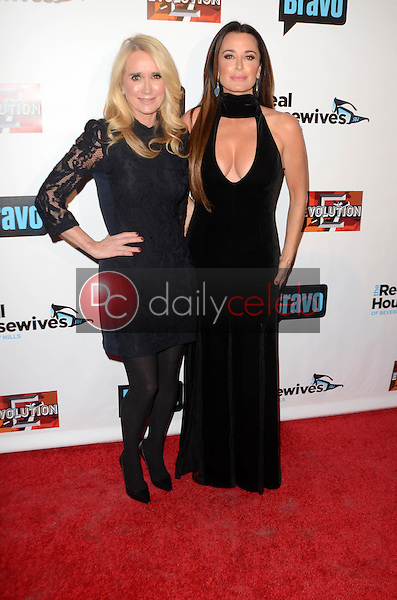 """Kim Richards, Kyle Richards<br /> at """"The Real Housewives of Beverly Hills"""" Season 7 Premiere Party, Sofitel Hotel, Beverly Hills, CA 12-02-16<br /> David Edwards/DailyCeleb.com 818-249-4998"""