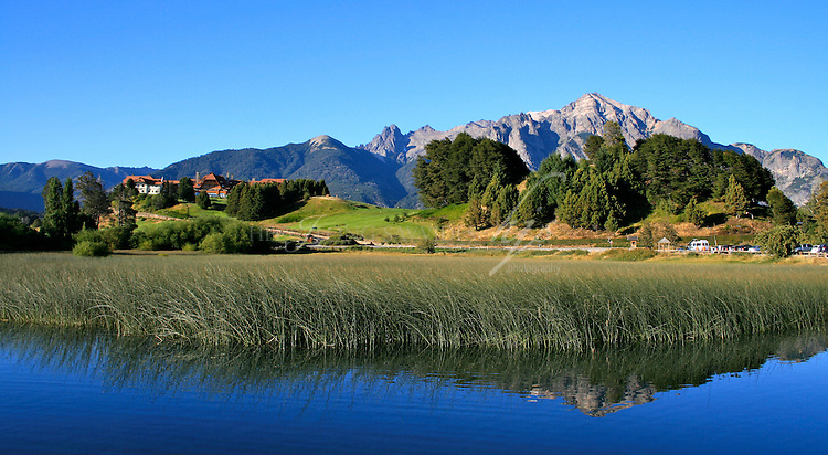 The Llao Llao hotel, San Carlos de Bariloche, Argentina.  Located on a hill between the Moreno Lake and Nahuel Huapi lakes. | Feb 08