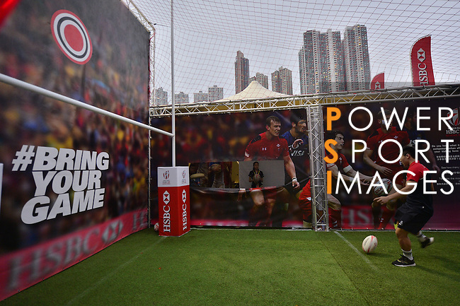 HSBC Hong Kong Rugby Sevens 2016 on 10 April 2016 at Hong Kong Stadium in Hong Kong, China. Photo by Marcio Machado / Power Sport Images