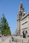 Liverpool, Three Graces, waterfront, Liver Building, Cunard Building, Port of Liverpool Building