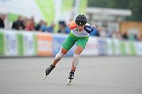 INLINE SKATEN: ALMERE: 04-07-2013, EK Inline Skaten, Manon Kamminga, ©foto Martin de Jong