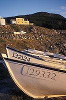Fishing Dories, Avalon Peninsula, Newfoundland, Canada