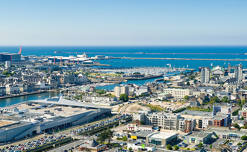 Cherbourg will host the finish of the Rolex Fastnet Race for the first time next August. Online entries open in January 2021. © Marc Lerouge