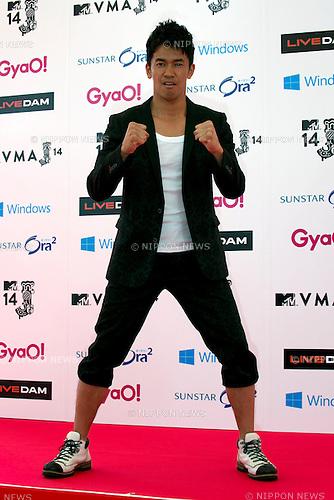 So Takei, June 14, 2014 : MTV VMAJ (Video Music Awards Japan 2014 at Maihama Amphitheater in Chiba, Japan. (Photo by Rodrigo Reyes Marin/AFLO)