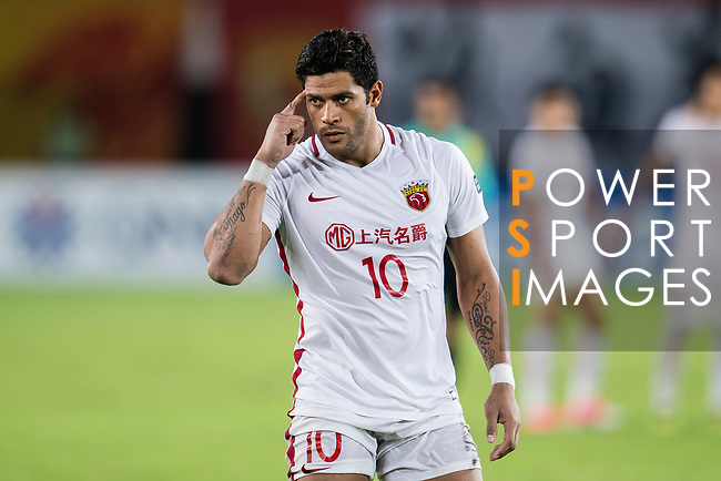 Shanghai FC Forward Givanildo Vieira De Sousa (Hulk) gestures during the AFC Champions League 2017 Quarter-Finals match between Guangzhou Evergrande (CHN) vs Shanghai SIPG (CHN) at the Tianhe Stadium on 12 September 2017 in Guangzhou, China. Photo by Marcio Rodrigo Machado / Power Sport Images