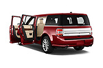 Car images close up view of a 2019 Ford Flex Limited 5 Door SUV doors