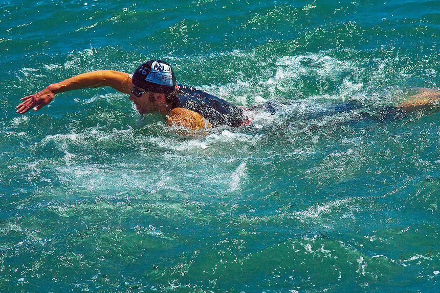 Images from the 2011 Chicago Triathlon which took place along the city's Millenium Park lakefront