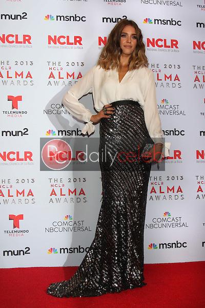 Jessica Alba<br /> at the 2013 NCLR ALMA Awards Press Room, Pasadena Civic Auditorium, Pasadena, CA 09-27-13<br /> David Edwards/Dailyceleb.com 818-249-4998
