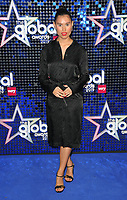 Raye (Rachel Keen) at the Global Awards 2019, Hammersmith Apollo (Eventim Apollo), Queen Caroline Street, London, England, UK, on Thursday 07th March 2019.<br /> CAP/CAN<br /> &copy;CAN/Capital Pictures
