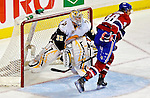 31 March 2007: Buffalo Sabres goaltender Ty Conklin in action against the Montreal Canadiens at the Bell Centre in Montreal, Canada...Mandatory Photo Credit: Ed Wolfstein Photo *** Editorial Sales through Icon Sports Media *** www.iconsportsmedia.com