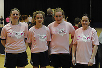 17th November 2013; Ellen O'Connor, Molly Dagg, Caren Cullen, Jannet Flanagan. She's Ace - Women in handball event, Breaffy House Sports Arena, Castlebar, Co Mayo. Picture credit: Tommy Grealy/actionshots.ie.