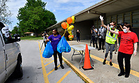 Jefferson County Public Schools today served its one millionth meal to students at its emergency food sites, hitting the milestone for providing free breakfasts and lunches while schools have remained shuttered due to the COVID-19 pandemic.
