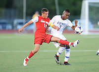 Stony Brook MSoccer at CCSU 8/29/2014