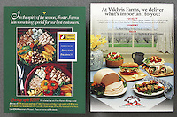 Foster Farms Product Sheet & Trade Ad