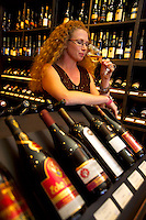 Vancouver, BC, Canada, August 2006. Wines from British Columbia can meets world standards, and can be tasted atTaylorwood wines in Yaletown. Squeezed in between the Rocky Mountains and the Pacific Ocean, Vancouver has a special feel. Photo by Frits Meyst/Adventure4ever.com