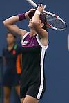 11.09.2011, Flushing Meadows, New York, USA, WTA Tour, US Open, Finale im einzel der Damen, im Bild SAMANTHA STOSUR (AUS) Jubelt nach dem Sieg // SAMANTHA STOSUR (AUS) celebrates after winning during WTA Tour US Open tennis tournament at Flushing Meadows, women singles final, New York, USA on 11/09/2011. EXPA Pictures © 2011, PhotoCredit: EXPA/ Newspix/ Marek Janikowski +++++ ATTENTION - FOR AUSTRIA/(AUT), SLOVENIA/(SLO), SERBIA/(SRB), CROATIA/(CRO), SWISS/(SUI) and SWEDEN/(SWE) CLIENT ONLY +++++
