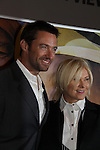 Hugh Jackman & wife Deborra Lee Furness (hosts) in support of the launch of the Global Poverty Project's 1.4 Billion Reasons DVD on October 20. 2010 at New York City's Museum of Modern Art, NYC, NY. (Photo by Sue Coflin/Max Photos)