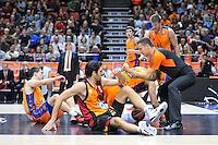 Euroleague - 2014/15<br /> Pukl vs Gonlum<br /> Regular season Round 7<br /> Valencia Basket vs Galatasaray