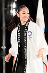 Miki Ando, <br /> JULY 24, 2017 : <br /> The countdown event Tokyo 2020 Flag Tour Festival and 3 Years to Go to the Tokyo 2020 Games, <br /> at Tokyo Metropolitan Buildings in Tokyo, Japan. <br /> (Photo by Yohei Osada/AFLO SPORT)
