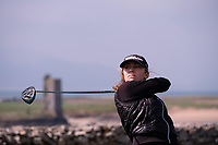Aoife Ni Thuama (UCC) during the final of the Irish Students Amateur Open Championship, Tralee Golf Club, Tralee, Co Kerry, Ireland. 12/04/2018.<br /> Picture: Golffile | Fran Caffrey<br /> <br /> <br /> All photo usage must carry mandatory copyright credit (&copy; Golffile | Fran Caffrey)