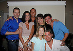 John Driscoll - Cathy Clausen Neff (L) and daughter Olivia - Pegilee Morris (blond) Sean Carrigan, Christopher Sean, Jeff Branson -  Actors from Y&R, General Hospital and Days donated their time to Southwest Florida 16th Annual SOAPFEST - a celebrity weekend May 22 thru May 25, 2015 benefitting the Arts for Kids and children with special needs and ITC - Island Theatre Co.  as it presented A Night of Stars on May 23 , 2015 at Bistro Soleil, Marco Island, Florida. (Photos by Sue Coflin/Max Photos)