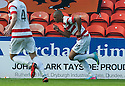 Hamilton's Mickaël Antoine-Curier celebrates after he scores their first goal.