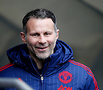 Ryan Giggs of Manchester Utd during the Barclays Premier League match at The Etihad Stadium. Photo credit should read: Simon Bellis/Sportimage