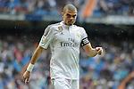 Real Madrid´s Pepe during 2014-15 La Liga match between Real Madrid and Eibar at Santiago Bernabeu stadium in Madrid, Spain. April 11, 2015. (ALTERPHOTOS/Luis Fernandez)