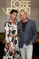 LOS ANGELES - SEPTEMBER 21: Elisa Atti and Evan Handler (R) attend the FX Networks & Vanity Fair Pre-Emmy Party at Craft LA on September 21, 2019 in Los Angeles, California. (Photo by Frank Micelotta/FX/PictureGroup)