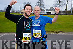 John Murphy and Patrick Torpey  runners at the Kerry's Eye Tralee, Tralee International Marathon and Half Marathon on Saturday.