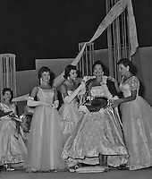 Photos taken in 1959 by Miss South Dakota Pageant producer, Don Mueller. Images show Meredith Auld (Brokaw) as she is crowned Miss South Dakota 1959.