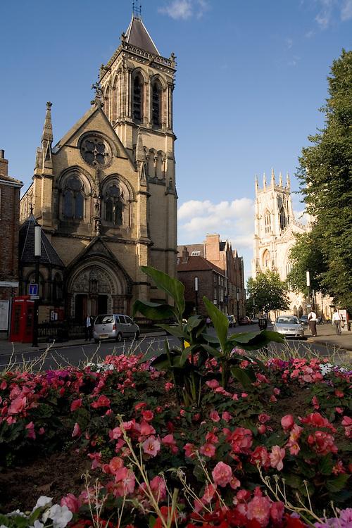 Street scene in York, England
