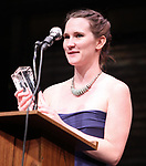 Keira Keeley during The 66th Annual Theatre World Awards at the World Stages, New York City. June 8, 2010