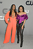 Nafessa Williams &amp; China Anne McClain of Black Lightning attends the CW Upfront 2018-2019 at The London Hotel in New York, New York, USA on May 17, 2018.<br /> <br /> photo by Robin Platzer/Twin Images<br />  <br /> phone number 212-935-0770