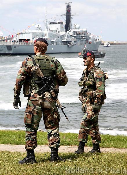 Korps mariniers in Den Helder