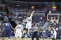 Tip-off between the Butler Bulldogs and Old Dominion Monarchs during the NCAA tournament at the Verizon Center in Washington, D.C. on Thursday, March 17, 2011. Alan P. Santos/DC Sports Box