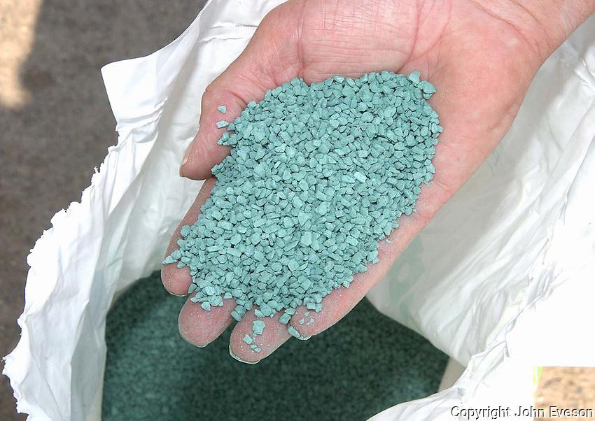 Grasstrac, a granular trace element product.