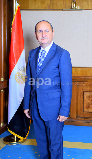 Newly Egyptian Minister of Trade and Industry, Amr Nassar poses for a photo at his office in Cairo, Egypt on June 22, 2018. Photo by Amr Sayed