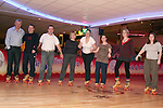 Siobhan O'Neill and Sonia Cole from Mumstown.ie and Fergus O'Dowd, Local TD who are taking part in Operation Transformation roller skating in Funtasia, Drogheda with David White, Robert Cole, Yvonne Francis, Joanne Rudd and Shula O'Dowd...Photo NEWSFILE/Jenny Matthews.(Photo credit should read Jenny Matthews/NEWSFILE)....This Picture has been sent you under the condtions enclosed by:.Newsfile Ltd..The Studio,.Millmount Abbey,.Drogheda,.Co Meath..Ireland..Tel: +353(0)41-9871240.Fax: +353(0)41-9871260.GSM: +353(0)86-2500958.email: pictures@newsfile.ie.www.newsfile.ie.FTP: 193.120.102.198.