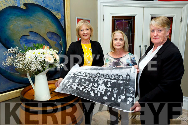 40 year Reunion launch of Austin Stacks Ladies Football. Pictured Ann Slattery, Noreen Power and Anne Eager