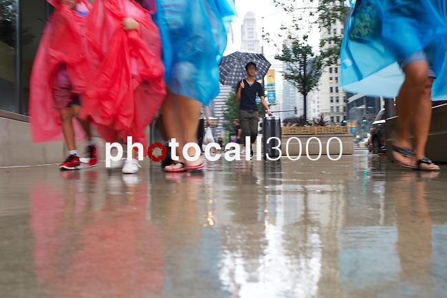 Chicago under the rain during the summer 2014<br /> Rafa Marrodán by photocall3000