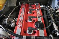 BNPS.co.uk (01202 558833)<br /> Pic: PPMMiltonKeynes/BNPS<br /> <br /> The 2.0l 224hp power plant. <br /> <br /> A pre-production prototype of the legendary Ford Sierra Cosworth RS500 has emerged for sale for a whopping £120,000.<br /> <br /> The RS500 was the road going version of Ford's iconic rally car with only 500 built in order to meet racing regulations.<br /> <br /> This one was the very first to be built in 1987 and in more recent times was road tested by Richard Hammond on the Grand Tour.
