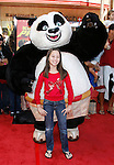 HOLLYWOOD, CA. - November 09: Actress Grace Polek arrives at the Kung Fu Panda DVD Release at Grauman's Chinese Theatre on November 9, 2008 in Hollywood, California.