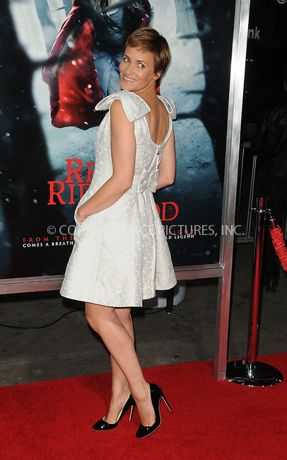 WWW.ACEPIXS.COM . . . . . ......March 7 2011, Los Angeles....Actress Judith Godreche arriving at the premiere of Warner Bros. Pictures' 'Red Riding Hood' at Grauman's Chinese Theatre on March 7, 2011 in Hollywood, California.....Please byline: PETER WEST - ACEPIXS.COM....Ace Pictures, Inc:  ..(212) 243-8787 or (646) 679 0430..e-mail: picturedesk@acepixs.com..web: http://www.acepixs.com