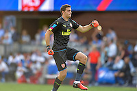 San Jose, CA - Thursday July 28, 2016: Emiliano Martinez during a Major League Soccer All-Star Game match between MLS All-Stars and Arsenal FC at Avaya Stadium.