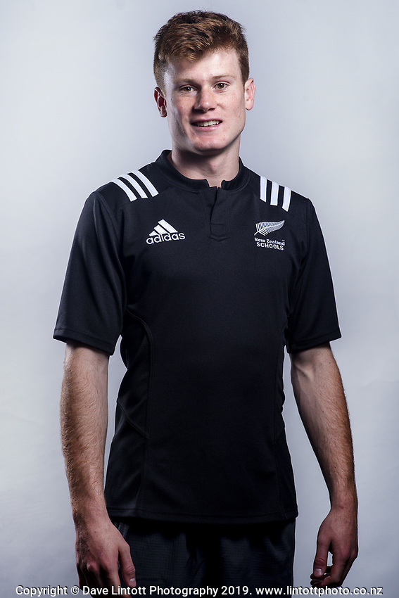 Wil Gualter (Lincoln High School). 2019 New Zealand Schools rugby union headshots at the Sport & Rugby Institute in Palmerston North, New Zealand on Wednesday, 25 September 2019. Photo: Dave Lintott / lintottphoto.co.nz